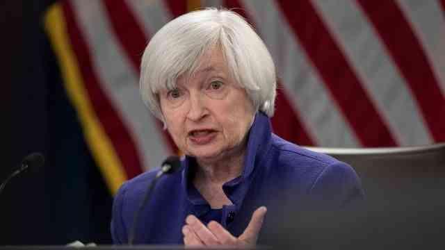 """ABD Hazine Bakanı Yellen'dan büyük ekonomilere """"IMF'nin özel çekme hakkını kırılgan ülkeler için kullanma"""" çağrısı"""