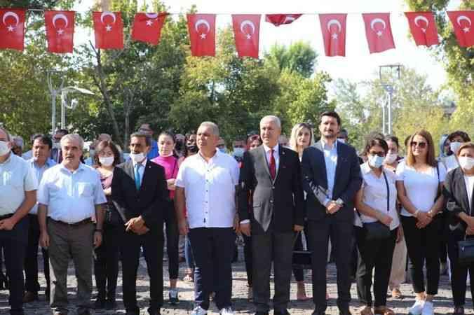 Kahramanmaraş'ta CHP'nin 98. yıl dönümü kutlandı
