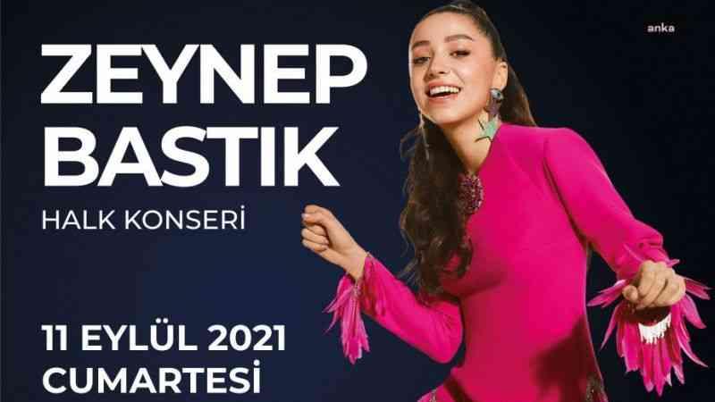 Altın Güvercin, Zeynep Bastık konseri ile sürecek
