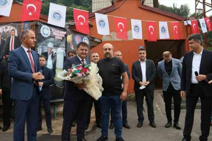 Zonguldak'ta madenciler toplu iş sözleşmesi hakkında bilgilendirildi