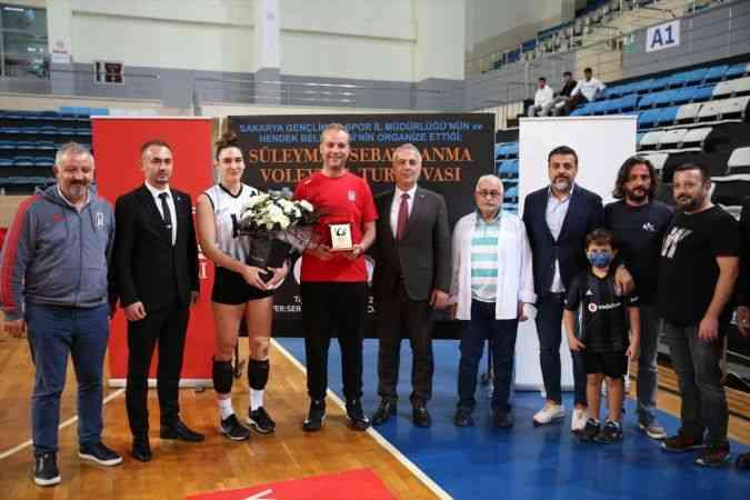 """Sakarya'da """"Süleyman Seba'yı Anma Voleybol Turnuvası"""" başladı"""