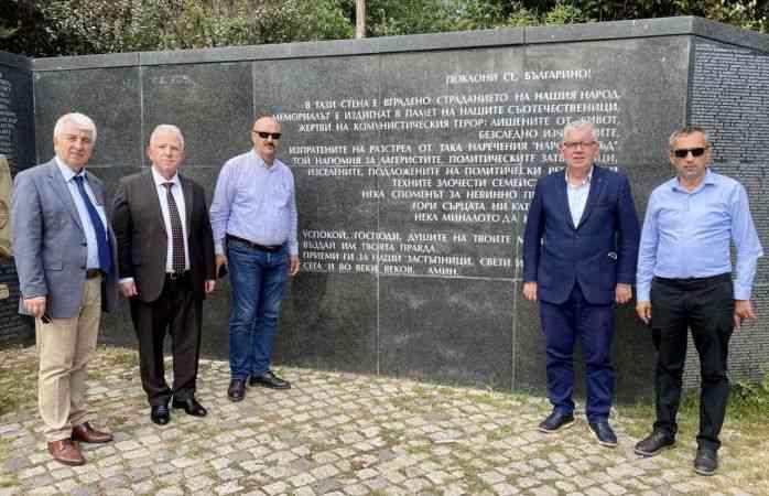 Balkan Rumeli Türkleri Konfederasyonu Bulgaristan'da temaslarda bulundu