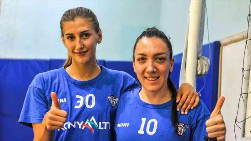 Konyaaltı Belediyespor Kadın Hentbol Takımı'nın hedefi ligde ilk üçe girebilmek