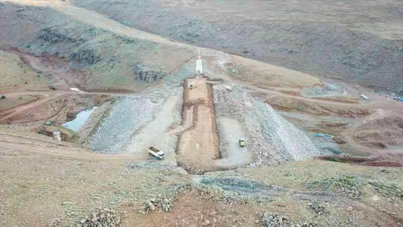 Erzurum'daki Köşk Barajı tamamlandığında ekonomiye yılda 1 milyon 62 bin liralık katkı sağlayacak