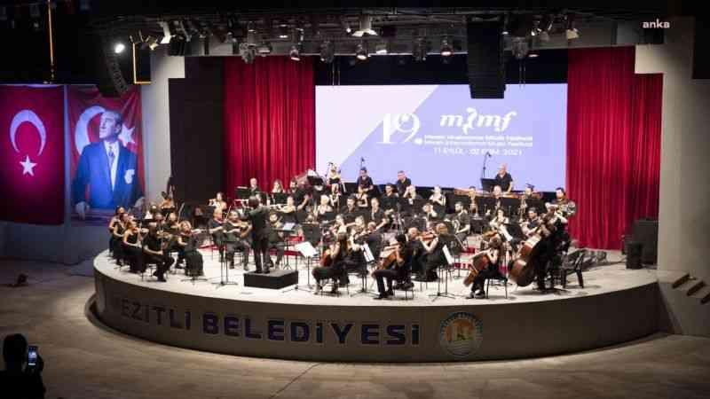 19'uncu Mersin Uluslararası Müzik Festivali gala konseriyle başladı