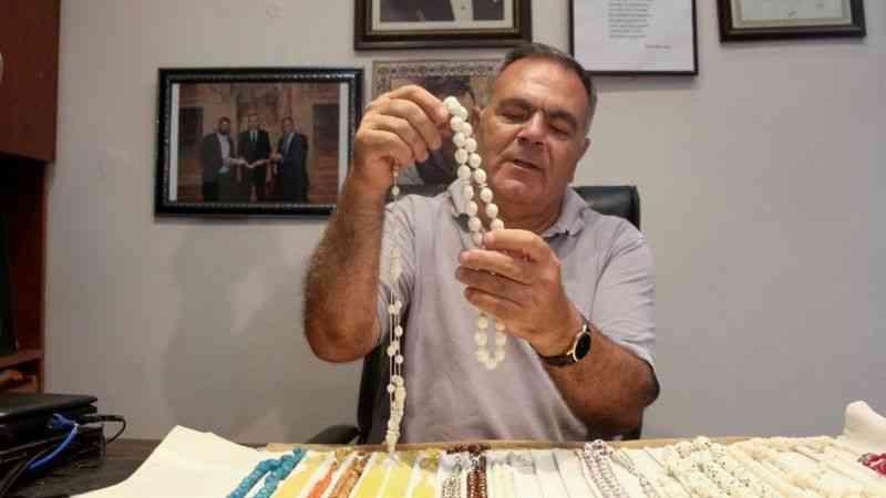Dua ve sabır tanelerinin 40 yıllık ustası