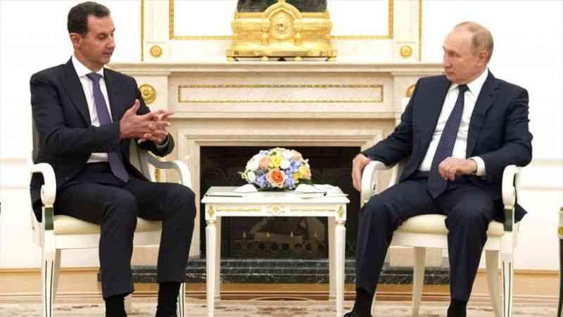 Rusya Devlet Başkanı Putin, Moskova'da Esed ile görüştü