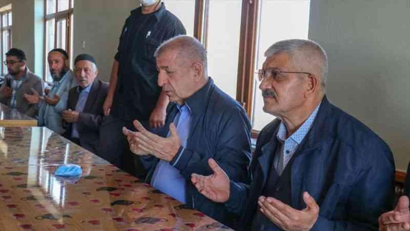 Zafer Partisi Genel Başkanı Ümit Özdağ, Van'da konuştu: