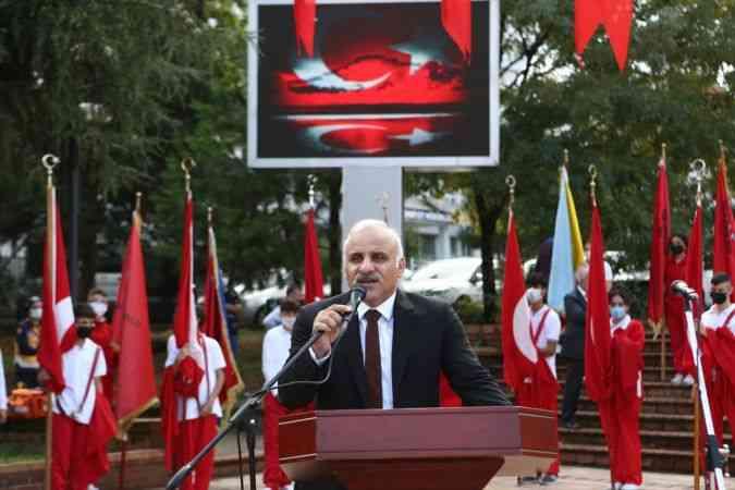 Atatürk'ün Trabzon'a gelişinin 97. yıl dönümü kutlandı