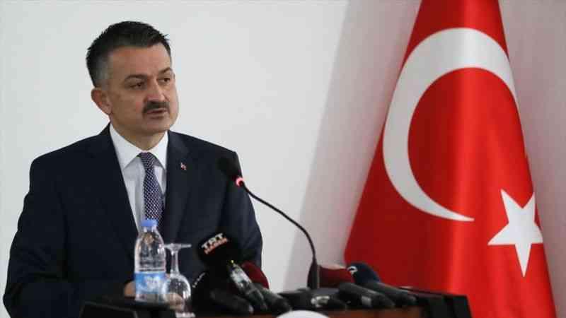 Tarım ve Orman Bakanı Bekir Pakdemirli, İzmir'de