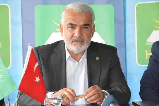"""HÜDA PAR Genel Başkanı Yapıcıoğlu: """"Seçim barajı tamamen sıfırlanmalıdır"""""""