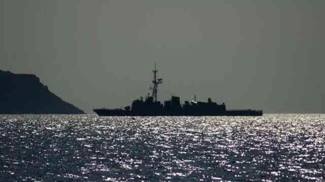 Çin donanmasına ait savaş gemilerinin, ABD'nin Alaska eyaleti açıklarında seyrettiği iddia edildi