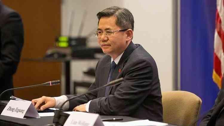 Çin'in Londra Büyükelçisi Zheng'in, İngiliz Parlamentosu'na girişi yasaklandı