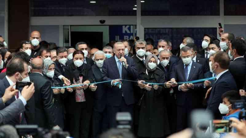 Cumhurbaşkanı Erdoğan, Kırşehir AK Parti İl Başkanlığı binasının açılışını yaptı