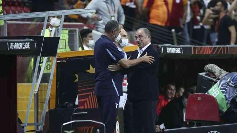 """Fatih Terim: """"Lazio'nun oyun kurmasını önledik ve rakibi hataya zorladık"""""""