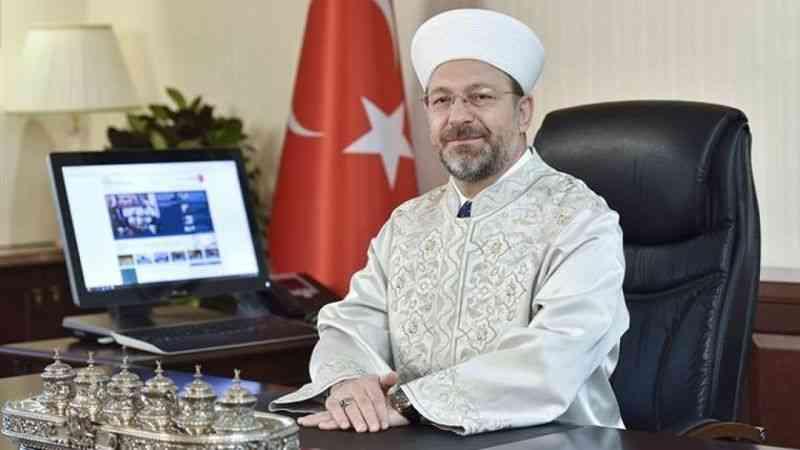 Ali Erbaş, Diyanet İşleri Başkanlığı'na yeniden atandı