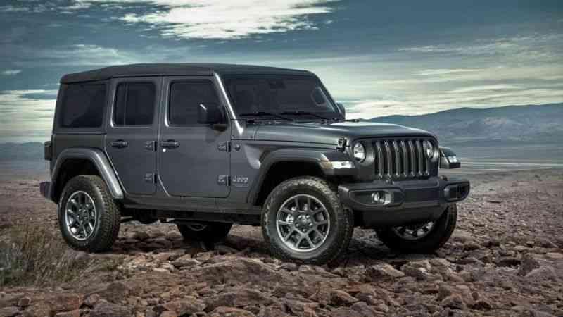 Jeep Wrangler'ın, 80'inci yıl özel versiyonu Türkiye'de satışa çıktı