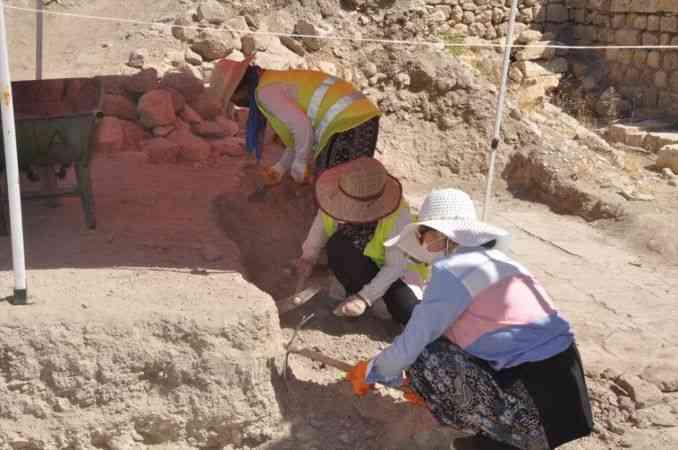 Mardin Kalesi'nde 2021 yılı kazı çalışmaları tamamlandı