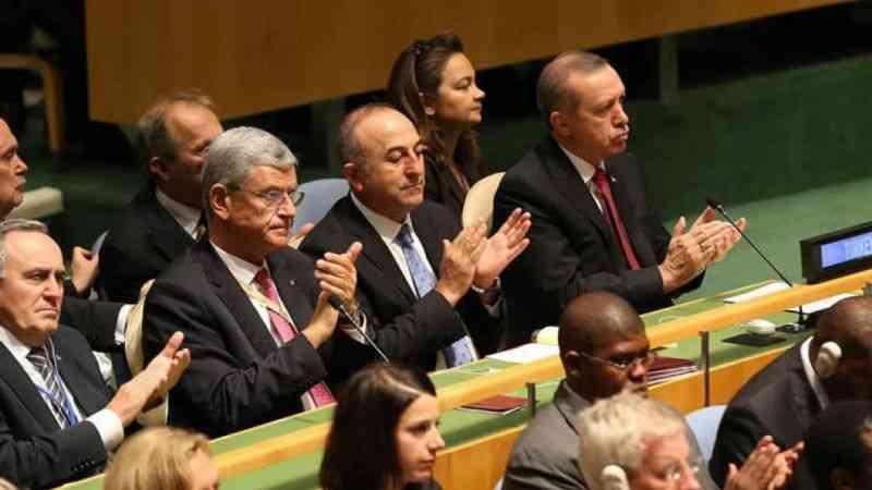 Cumhurbaşkanı Erdoğan'dan BM'de AB mesaisi