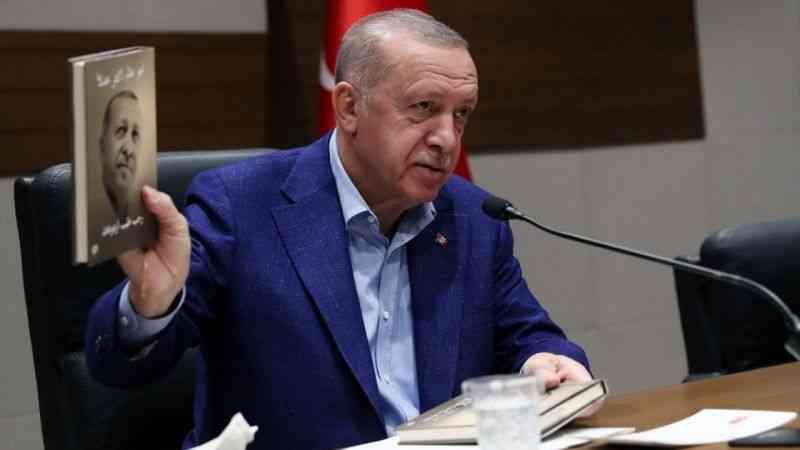 Cumhurbaşkanı Erdoğan, ABD'ye hareketinden önce basın toplantısı düzenledi