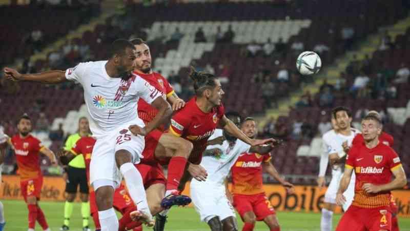 Hatayspor, Kayserispor'u 2-1 yendi