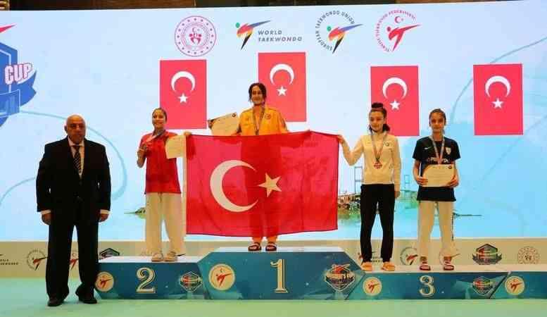 Tekvandoda Başkanlık Kupası'nın dördüncü gününde millilerden 27 madalya