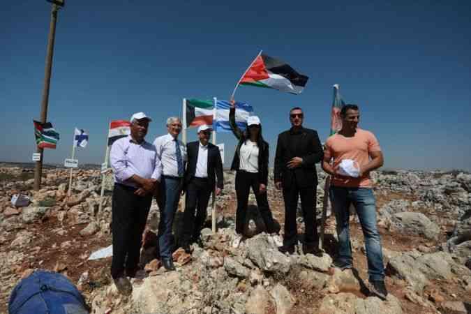"""Batı Şeria'da """"Milletler Kampı"""" etkinliği"""