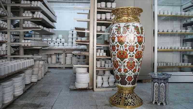 Dünyada Türk porselenine ilgi artıyor
