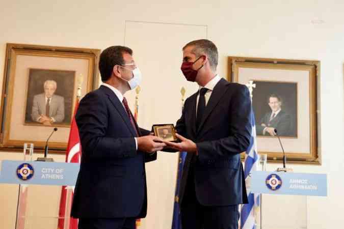 İmamoğlu: Yunanistan ile Türkiye arasında iyi niyet ve ortak akılla çözülemeyecek sorun yok