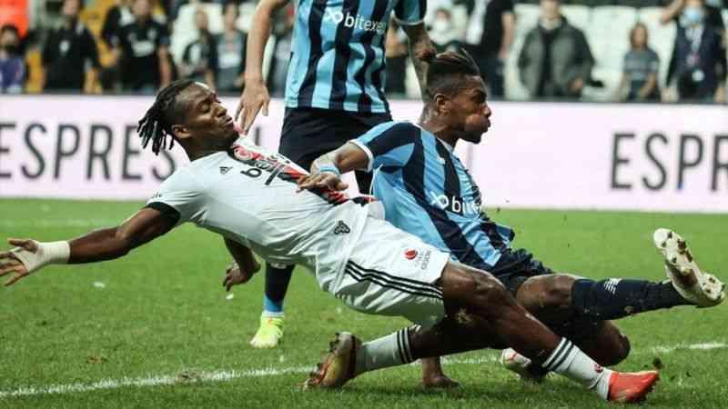 Beşiktaş, Adana Demirspor ile 3-3 berabere kaldı