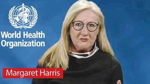 DSÖ Sözcüsü Margaret Harris'ten aşı karşıtlarına tepki