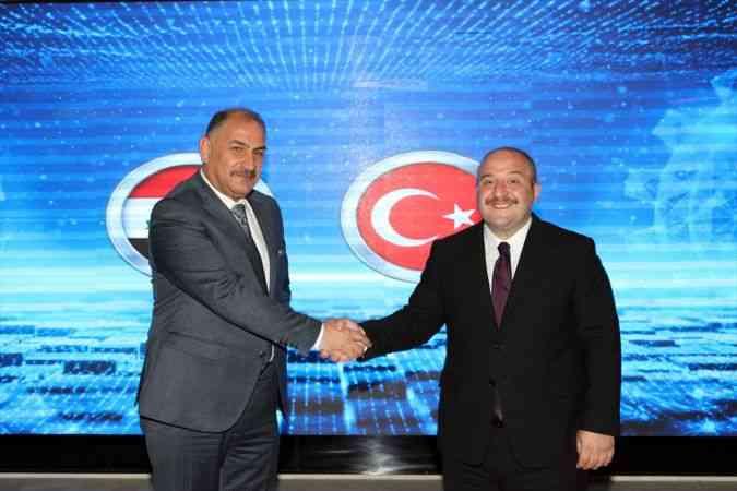 Sanayi ve Teknoloji Bakanı Mustafa Varank'tan Irak ile her alanda iş birliği mesajı: