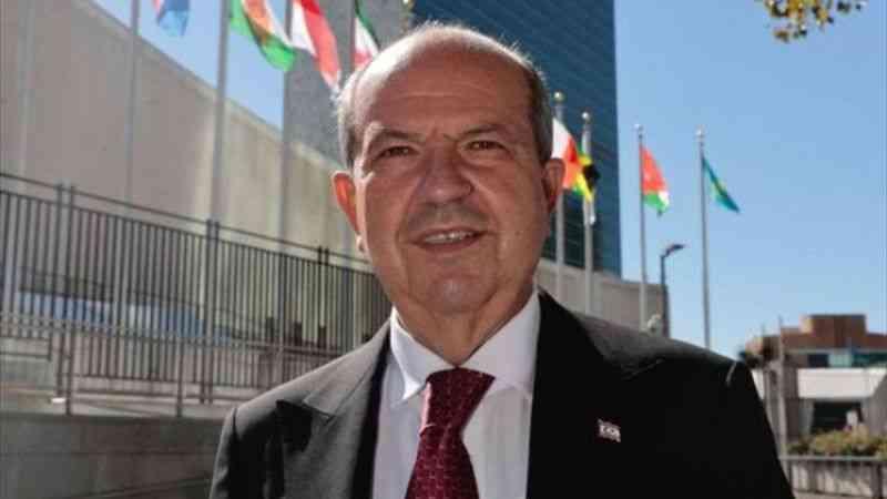 KKTC Cumhurbaşkanı Tatar, Rum lider Anastasiadis'in BM Genel Kurulu'ndaki konuşmasını eleştirdi: