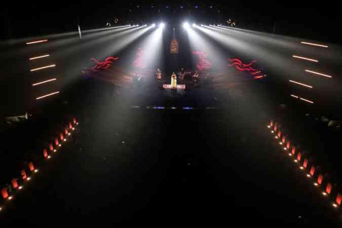 18. Konya Uluslararası Mistik Müzik Festivali'nde Ürdünlü sanatçı Hind Hamet sahne aldı