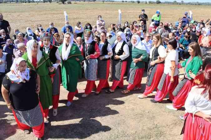 """Kırklareli'nde """"Kızılcıkdere 1. Bağ Bozumu"""" etkinliği yapıldı"""