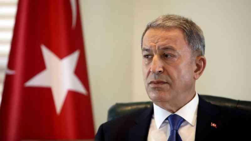 Milli Savunma Bakanı Akar, birlik komutanları ile video konferans toplantısı yaptı