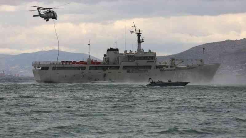 """Mısır, Yunanistan, BAE ve Suudi Arabistan """"Herkül 21"""" ortak askeri tatbikatını tamamladı"""