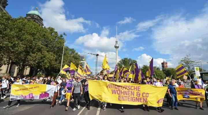 """Berlin'de kira artışlarına dur demek için yapılan referandumundan """"evet"""" çıktı"""