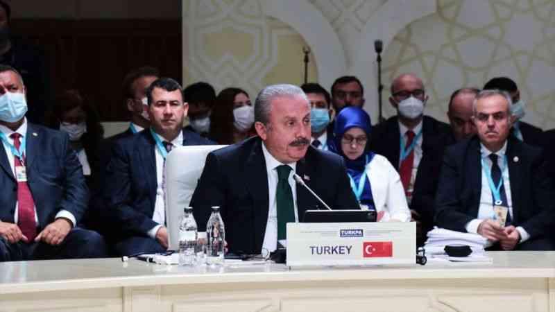 TBMM Başkanı Şentop, FETÖ'nün kardeş ülkelerin milli güvenliğine tehdit oluşturduğunu söyledi