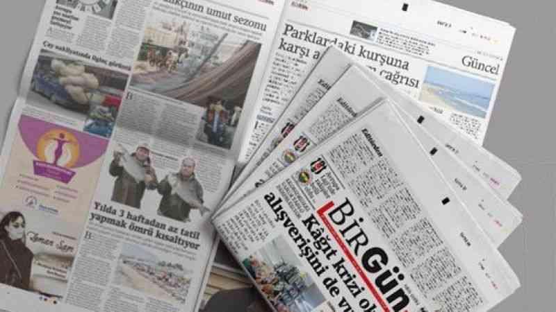 Basın İlan Kurumundan Birgün gazetesi açıklaması