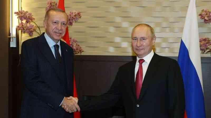 Rusya Devlet Başkanı Putin, Cumhurbaşkanı Erdoğan ile görüşmesinde konuştu