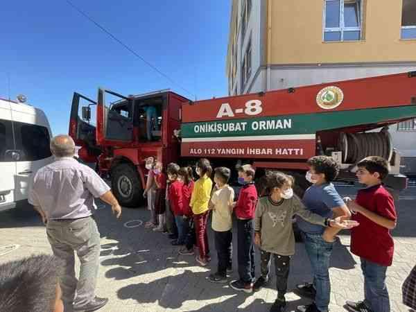 Kahramanmaraş Orman Bölge Müdürlüğü ekipleri öğrencileri bilgilendirdi