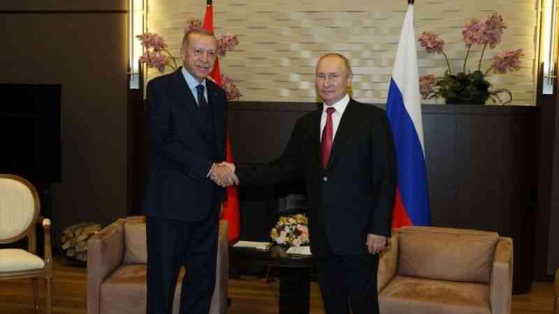 Cumhurbaşkanı Erdoğan, Rusya Devlet Başkanı Putin ile görüşmesinde konuştu