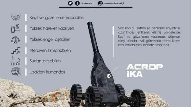 İnsansız Kara Araçları, Kara Kuvvetleri Komutanlığı birliklerinde kullanılmaya başlandı