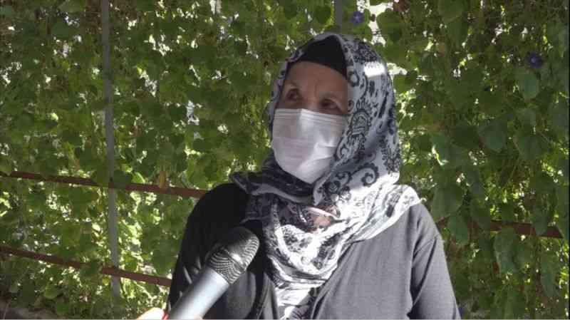 Kayseri'de 70 yaşındaki kadın aşı sayesinde Kovid-19'u ayakta atlattı