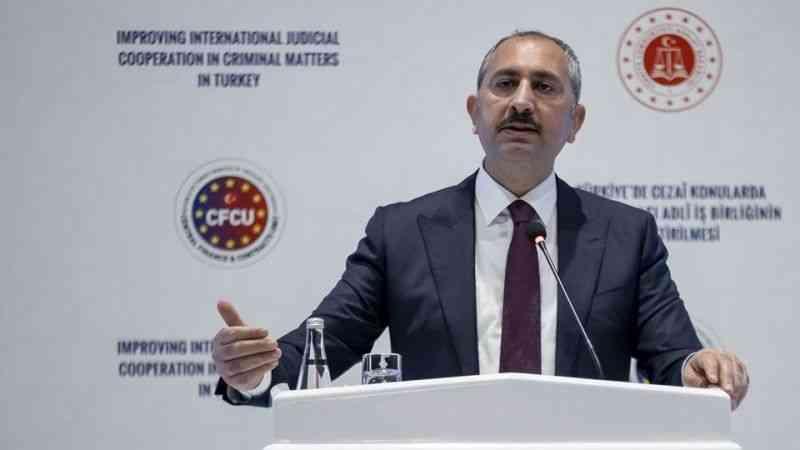 Adalet Bakanı Gül, uluslararası adli iş birliğinin önemine işaret etti