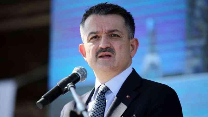 Tarım ve Orman Bakanı Pakdemirli, Mersin'de