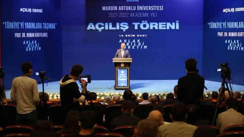 AK Parti'li Kurtulmuş, Artuklu Üniversitesi Akademik Yılı Açılış Töreni'nde konuştu: