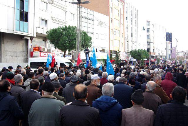 AGD'den Doğu Türkistan'da şehit olanlar için cenaze namazı