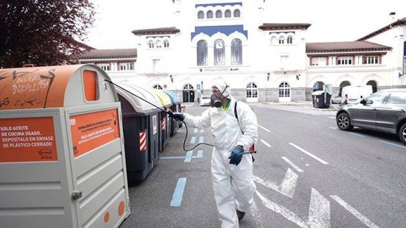 İspanya'da korona virüs bilançosu: 2 bin 696 ölü